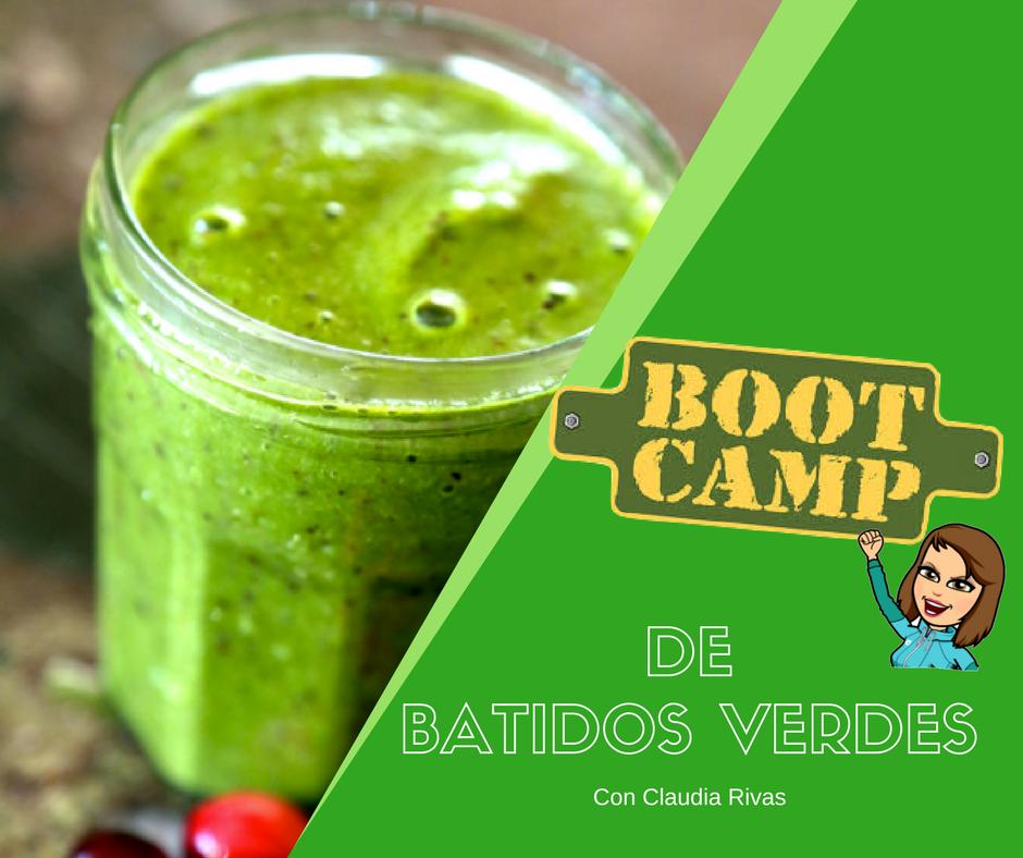 Bootcamp de Batidos verdes